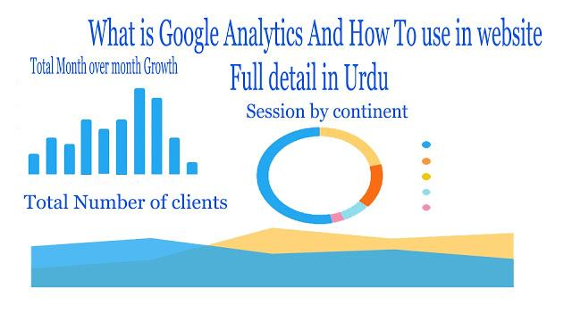 How to use Google Analytics in Urdu full detail