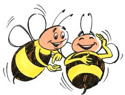 Image result for bees laughing clipart