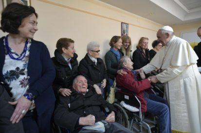 Chuyến thăm mục vụ của Đức Thánh Cha đến giáo xứ  San Giulio thuộc Roma trong vùng Monteverde (Toàn văn)