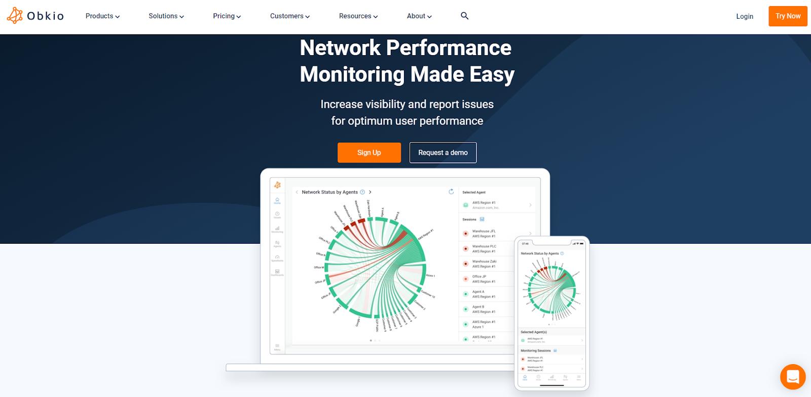 Obkio Network Monitoring Tool