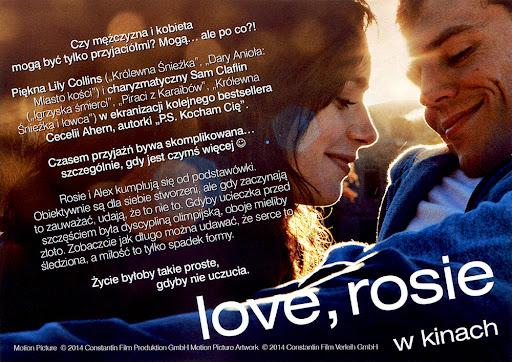 Tył ulotki filmu 'Love, Rosie'