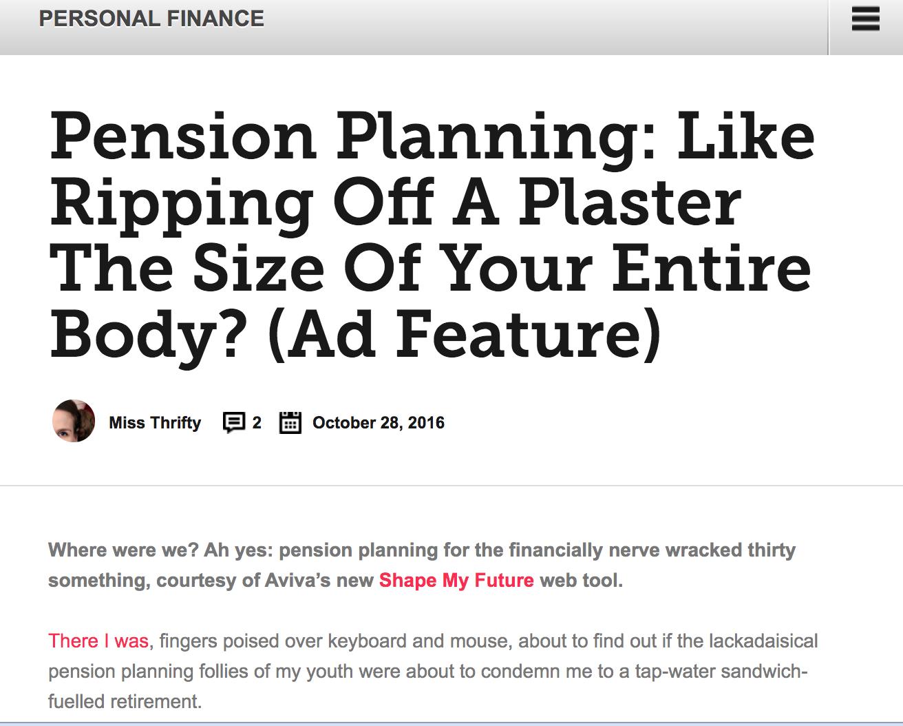 planification de la retraite: comme arracher un pansement de la taille de tout votre corps?