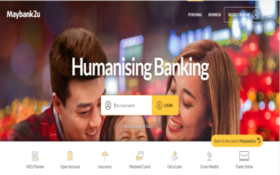 maybank2u login