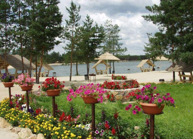 Фото Голубые озера из Харькова