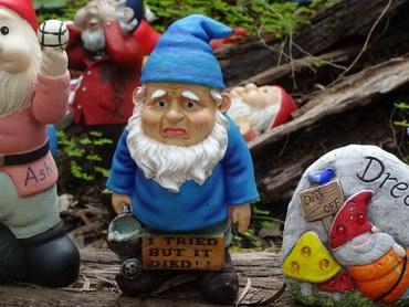 sad gnome
