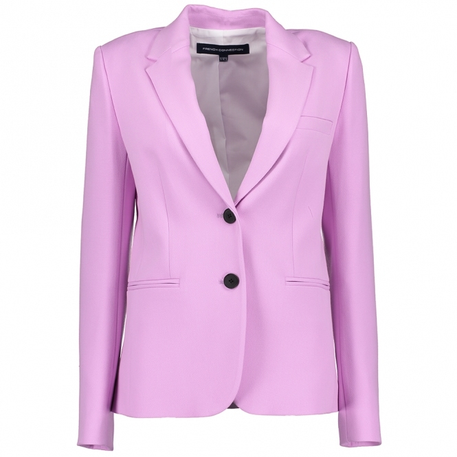 FRENCH CONNECTION Sundae Suiting Pastel Suit Jacket