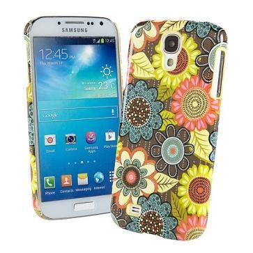 Snap on Case for Samsung Galaxy S 4 in Flower Shower