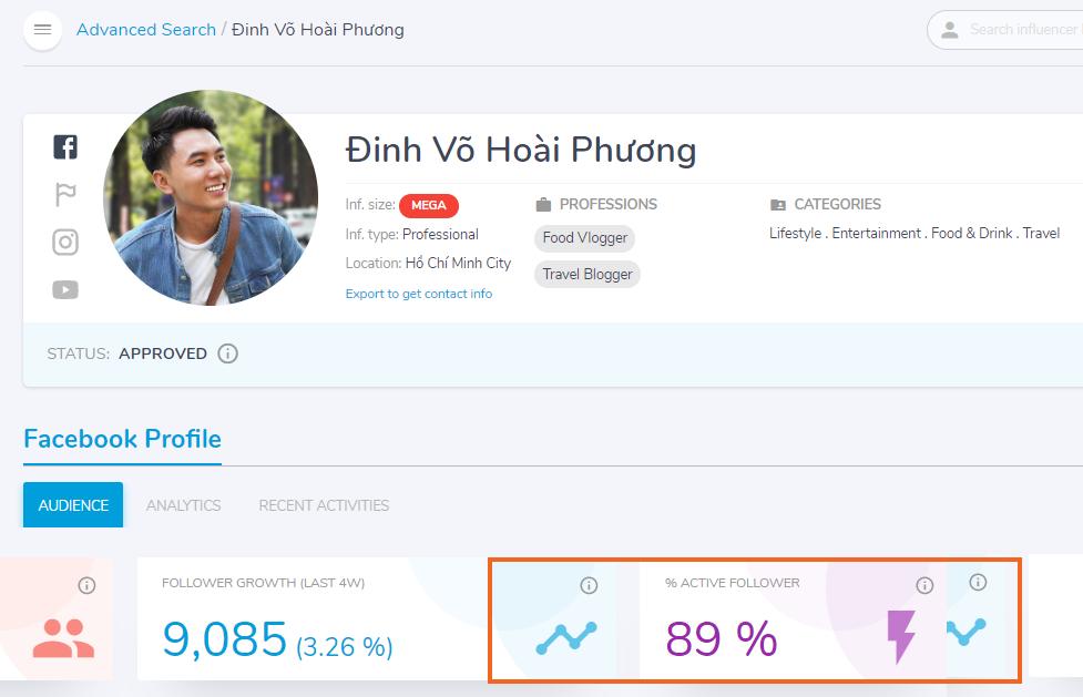 Profile của Khoai Lang Thang trên SociaLift