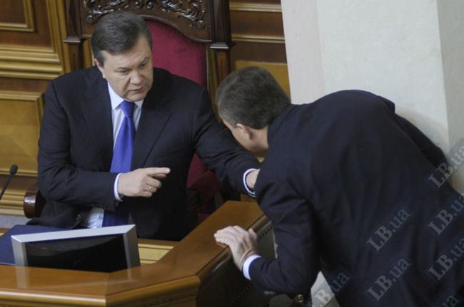 Віктор Янукович і Сергій Льовочкін