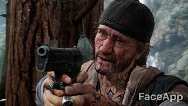 Deacon, faceapp, days gone