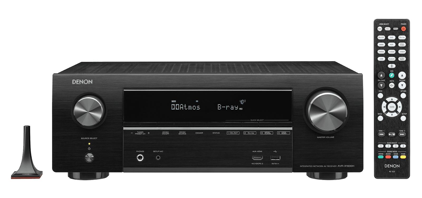 Amply Denon X1600H + Bộ Loa Polk Audio A5 rất sang trọng - 2
