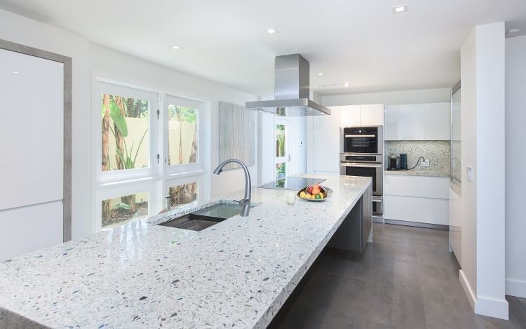 modern-waterfall-island-recycled-glass-countertop