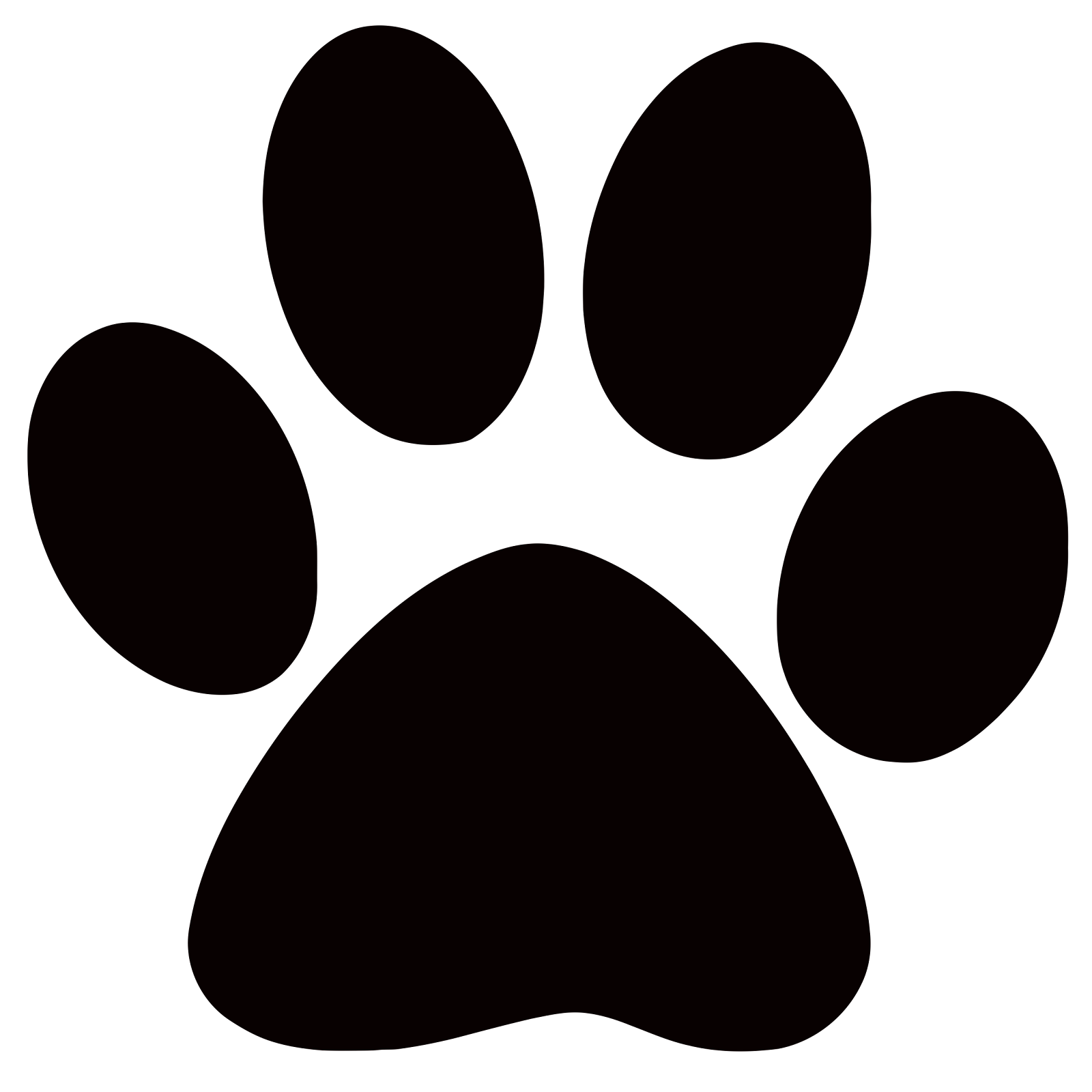 Image result for paw print clipart