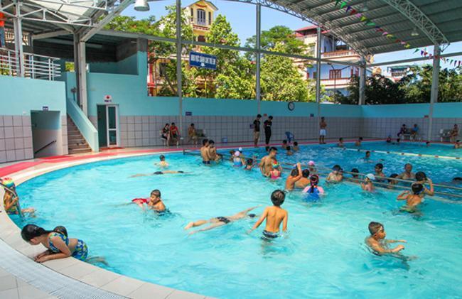 Kết quả hình ảnh cho bể bơi trẻ em