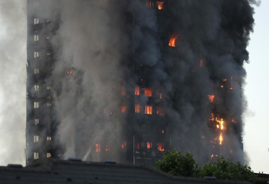 kebakaran bangunan