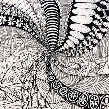 What Is Zentangle Drawing Meditation? | POPSUGAR Fitness