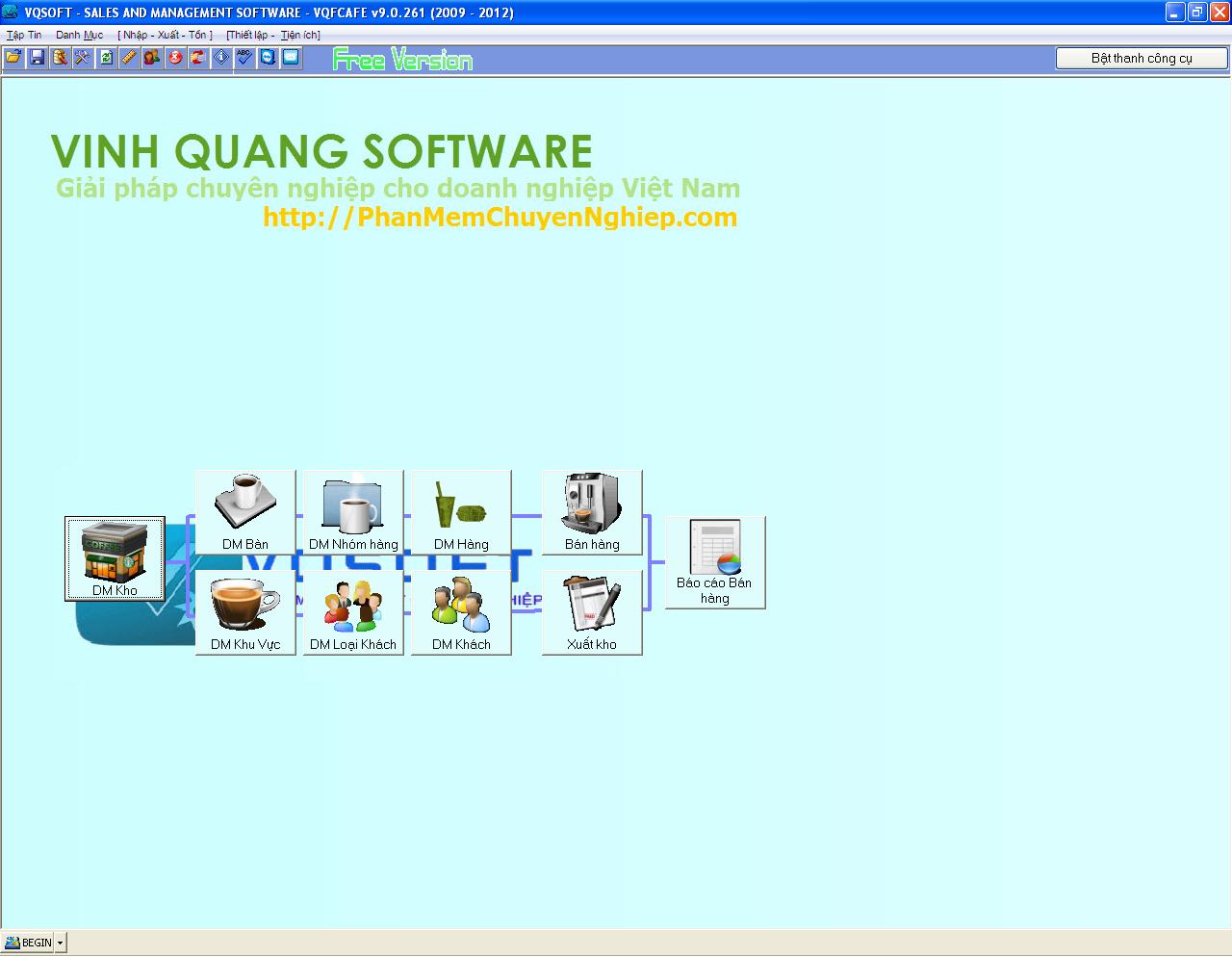 Phần mềm tính tiền miễn phí
