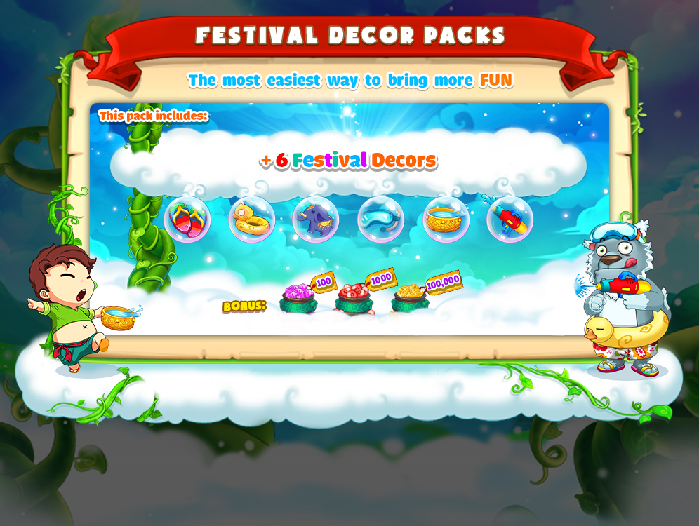 Sky Garden Farm in Paradise and Dead Target Zombie are featuring on Google Play's Songkran 2017, with hot discounts (2).jpg