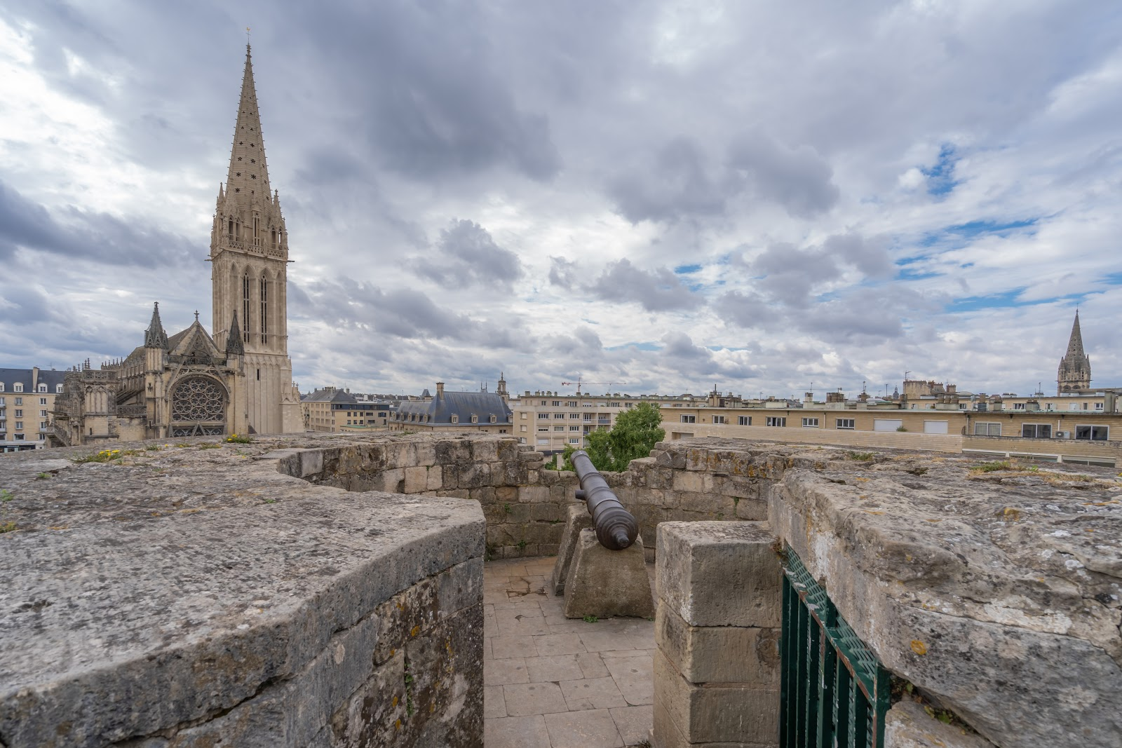 Die mittelalterliche Stadt Caen