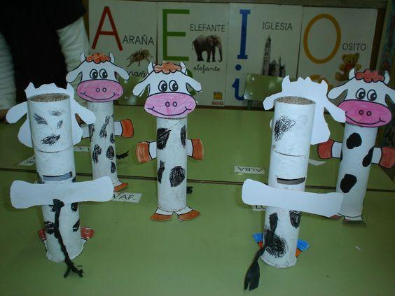 Manualidades para niños: Vaca hucha