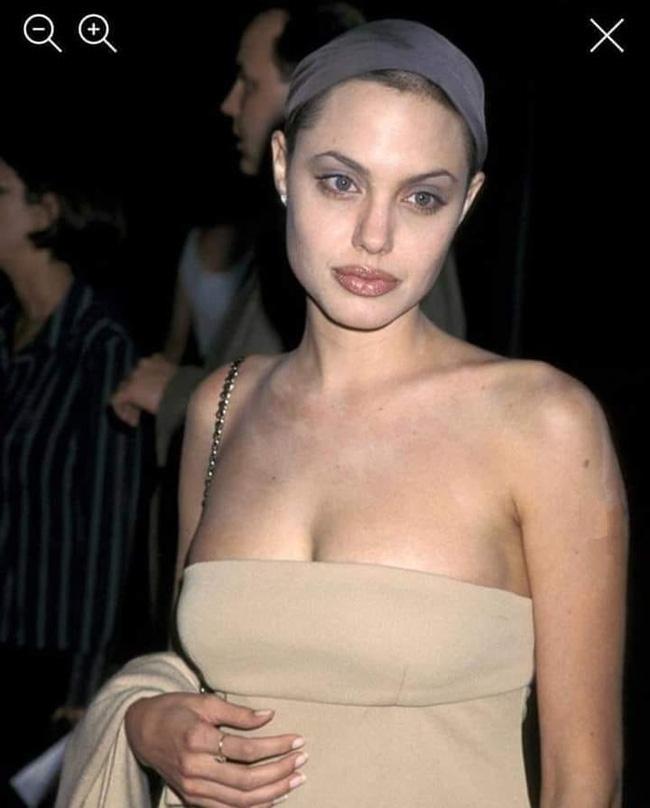 Bộ ảnh gây bão của Angelina Jolie hóa ra chỉ là giả - ảnh 5