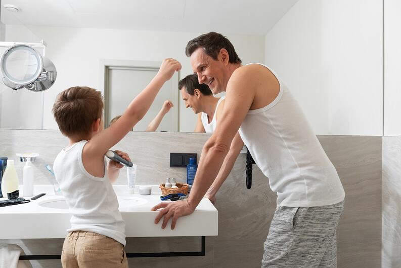 desodorante nino padre