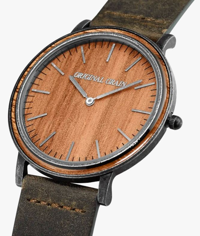 Koa Stonewashed Minimalist Watch, Original Grain Watches Review