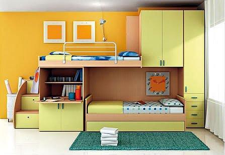 Giường cho trẻ nên chọn kiểu dáng đơn giản
