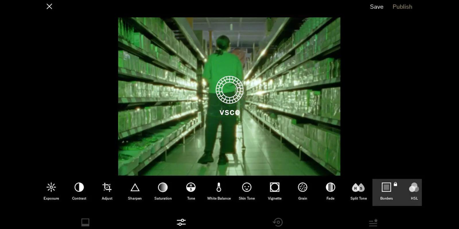 Best Apps for Instagram Business: VSCO