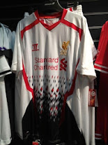 Liverpool 2014 away kit