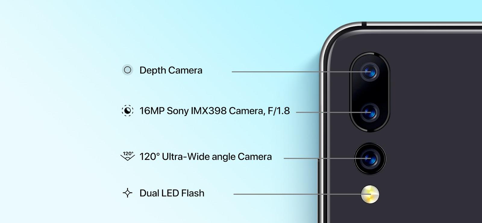 UMIDIGI A5 Pro  triple caméra arrière