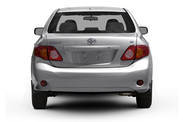 rear-view-of-the-Toyota-Corolla-2009