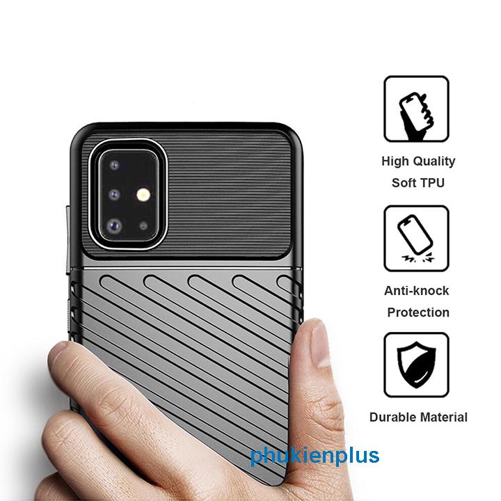 Thiết kế mới với ốp lưng Flim Carbon sang chảnh Samsung Galaxy A31 - 1