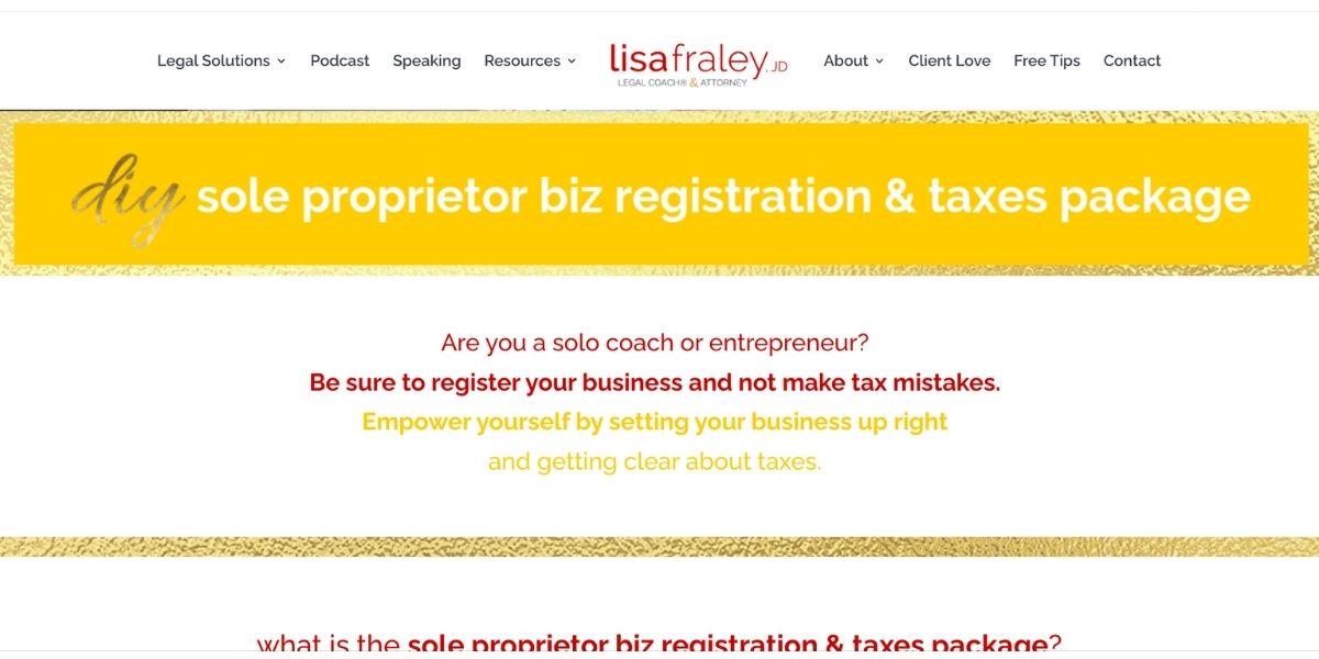 Sole Propretor Biz registration