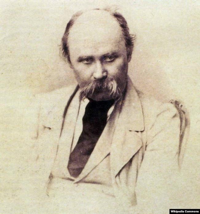 Тарас Шевченко (1814–1861). Фотографія 1860 року