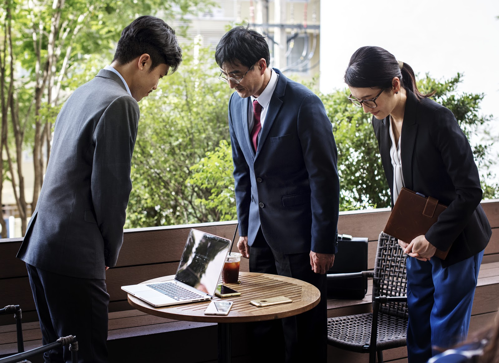 Japanese people appreciate applicants who understand Japanese culture.