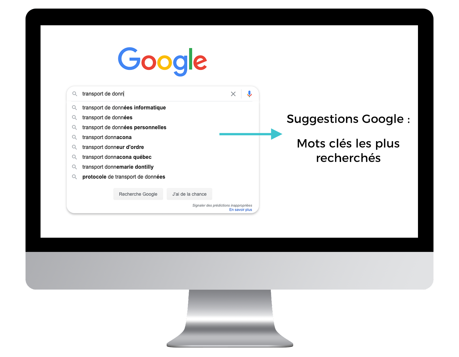 Image schéma Google Suggest SEO