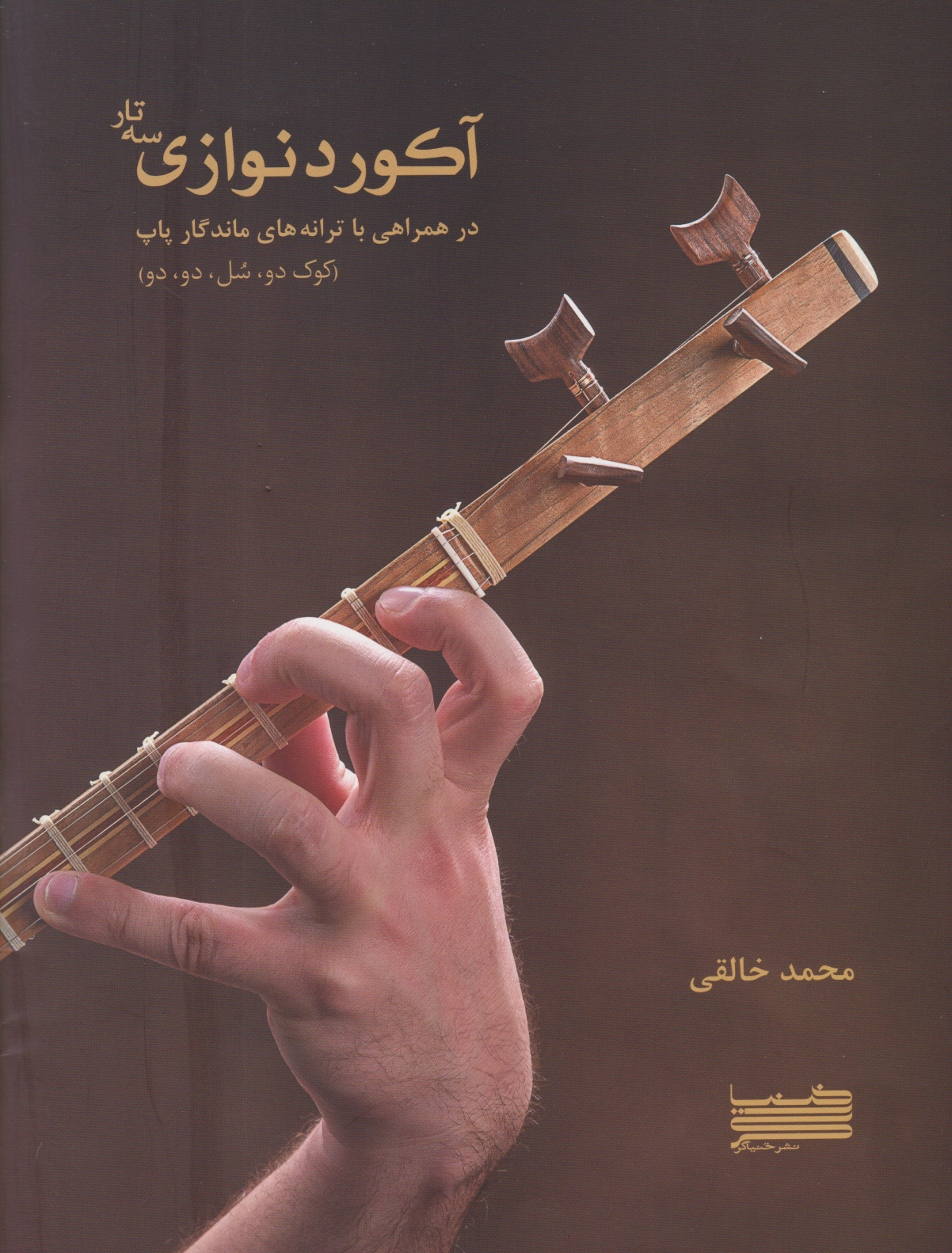 کتاب آکوردنوازی سهتار محمد خالقی انتشارات خنیاگر