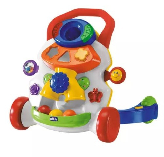 5. Chicco Baby Steps Activity Walker