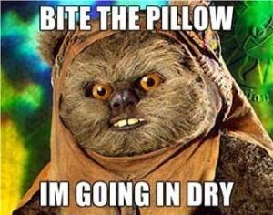 Creepy Ewok