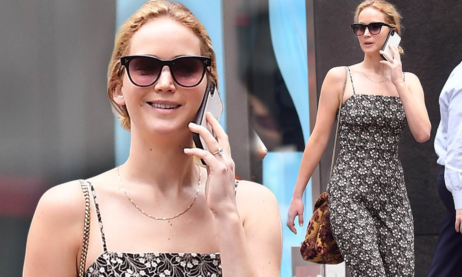 Such a beauty as Jennifer Lawrence is intriguing in every picture, every perspective