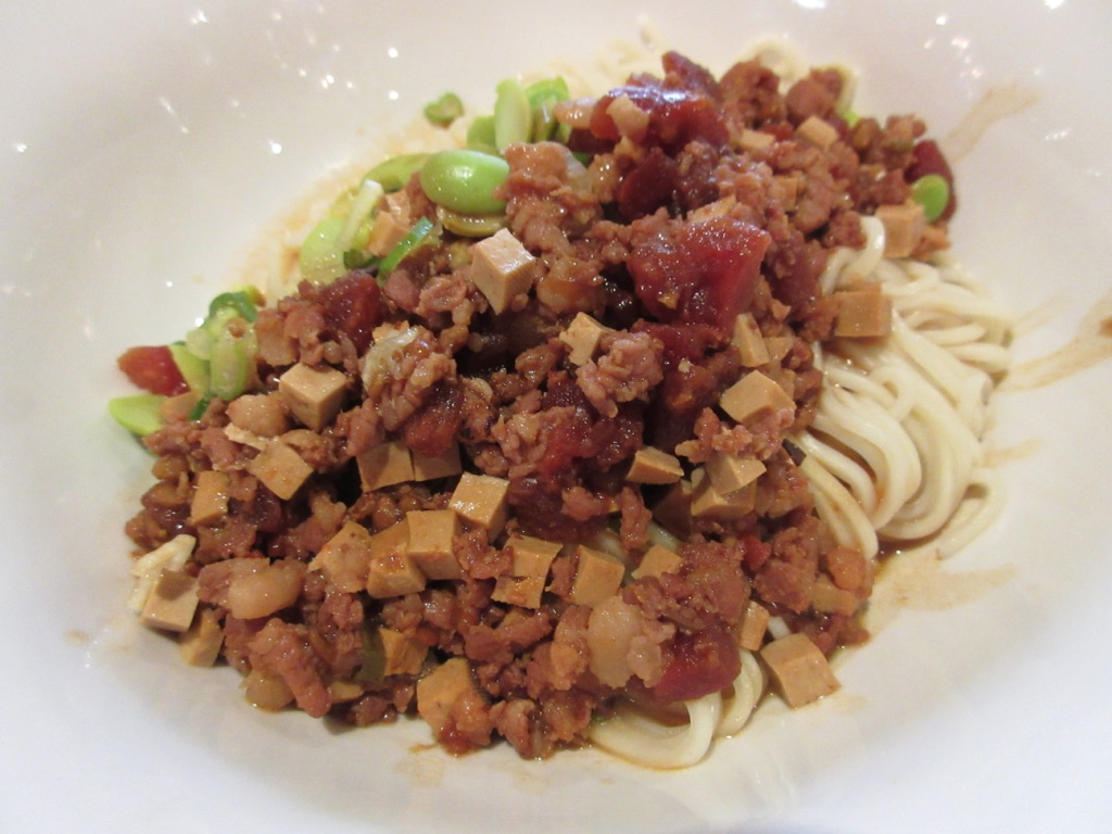 Minced pork noodles Taipei Taiwan