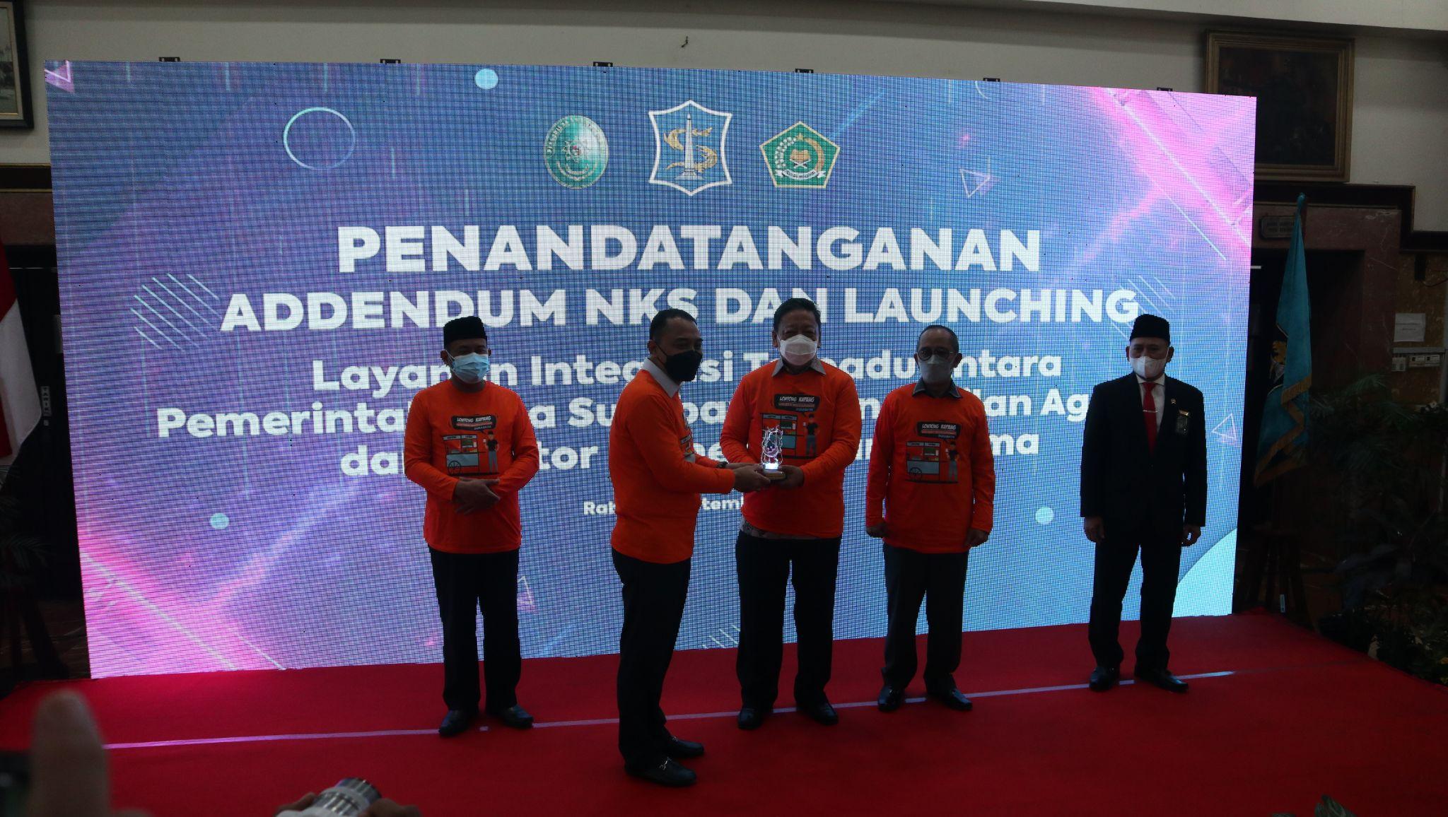 Launching Inovasi Sinergi disdukcapil-PA-Kemenag