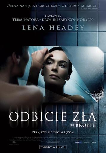 Polski plakat filmu 'Odbicie Zła'