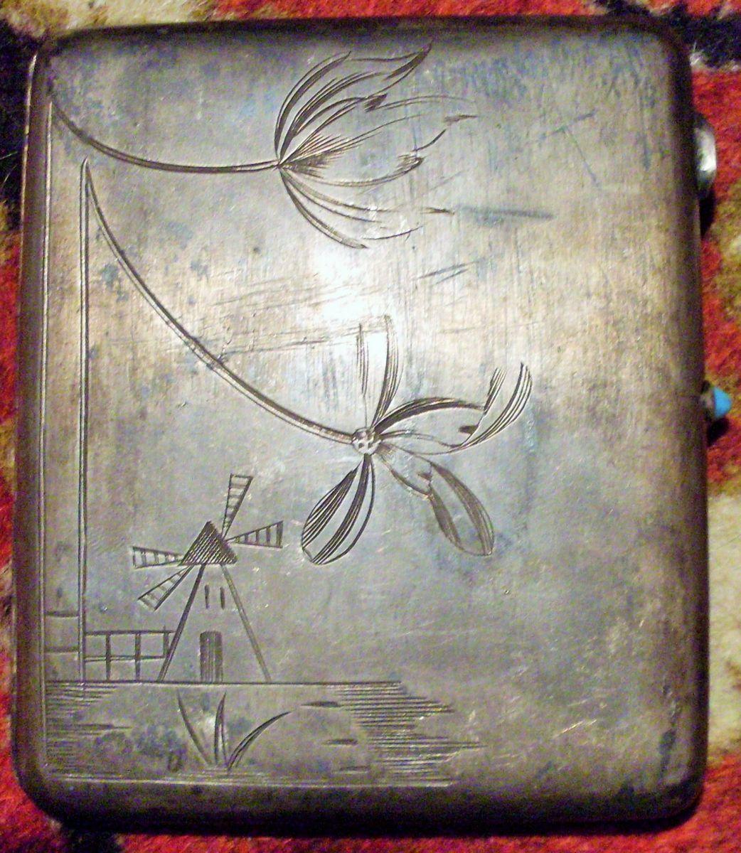 Срібний портсигар чекіста Кисельова