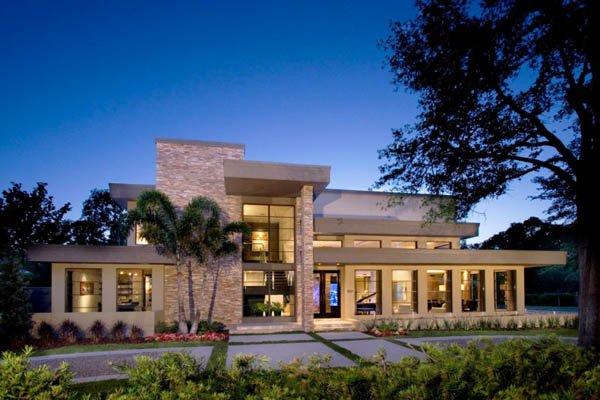 Dosis arquitectura hogar moderno y sofisticado en winter park for Casa jardin winter park fl