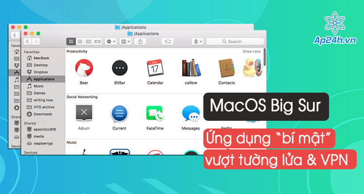 Ung dung mac dinh cua Apple duoc cap phep vuot tuong lua va VPN