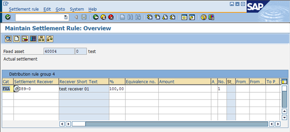 Process document Asset Under Construction in SAP