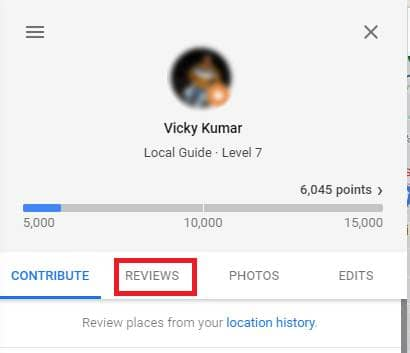 delete google reviews