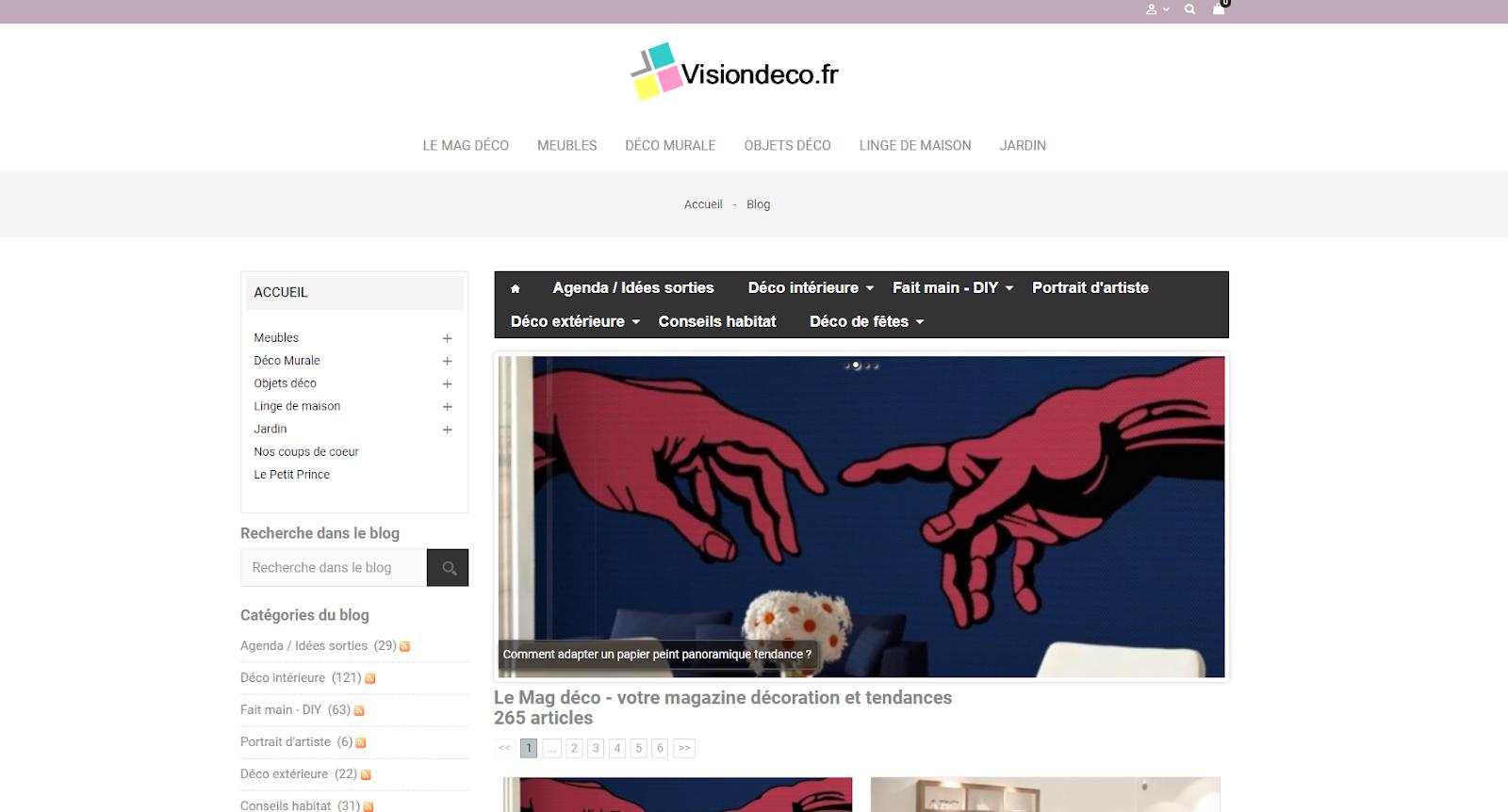 Le blog visiondeco